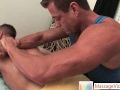 Park Wiley Gets The Massage Of His Life