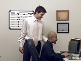 Sexy Gay Workers Fucking In The Office
