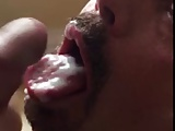 Horny Bitch Swallows Cum From PERFECT Cock