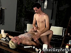 Male Bondage Cam Gay Splashed With Wax And Cum