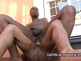 Two Ebony Studs Having Some Hot Sex Session