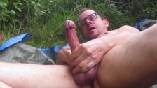 The Great Anal And Piss Outdoors