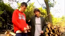 Two Boys Caught Wanking Outdoors