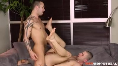 Roommates Ass Fucking With Sonny Stewart & Cedrick Dupuy