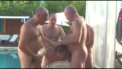 Muscle Guy Fucked By Daddies