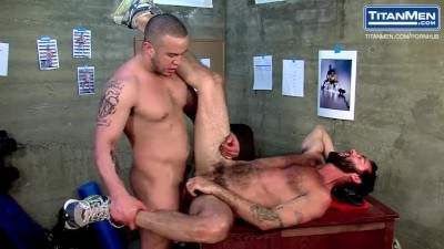 Hot Coach Gets Fucked By Young Muscular Jock