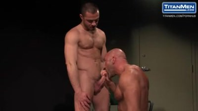 Muscle Daddy Jesse Jackman Gets Interrogated And Fucked