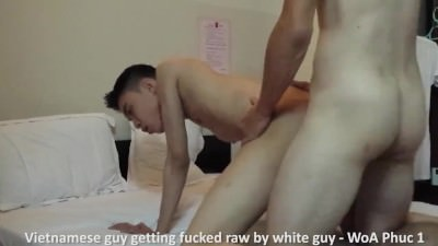 Vietnamese Guy Getting Fucked By White Guy – WoA Phuc 1