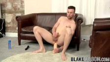 Eden Starr Sits On A Big Dildo Solo