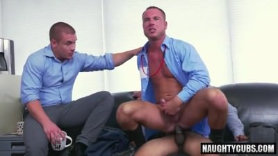 Latin Gay Dildo With Facial