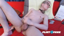 Euro Twink Sonnie Crow Plays With His Ass And Big Cock