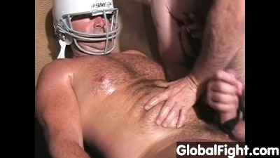 Carolina Jim Hairy Musclebear Daddy Masterbating Jackoff Football Coach