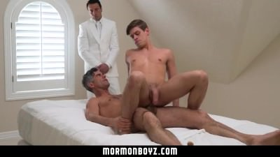 MormonBoyz – Horse Hung Daddy Fucks The Cum Out Of Mormon Boy
