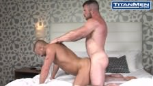 Audition: Liam Knox & Dirk Caber: Hot Hairy Muscle Studs Filp Fucking