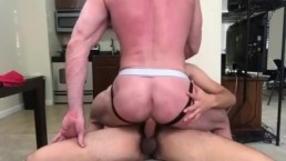 Billy Rides A Georgetown Soccer Player's Cock