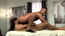 Hairy Boys Ali Liam & Trey Turner Suck Fuck & Eat Ass – HOT