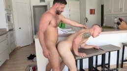 Hairy Latin Big Dick Uncut Daddy Fucks Muscle College Boy