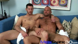 BTS MenOver30 – Hot Hairy Muscle Daddies Chad Brock & Clay Towers