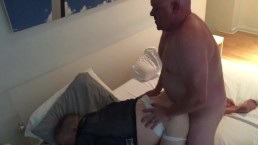 Meaty Older Daddy Fucks A Football Cub