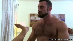 Hot Hairy Daddy Jaxton Wheeler & Uncut Big Dick Brazilian Boy