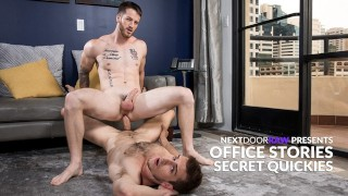 Office Stories: Work Crushes Fuck Raw In Private Office – NextDoorRaw