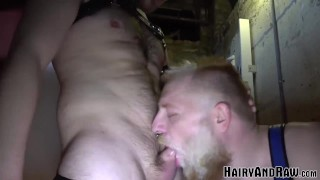 HAIRYANDRAW Colin O'Brian Eats Sean Blackwell's Hole Before Fucking It