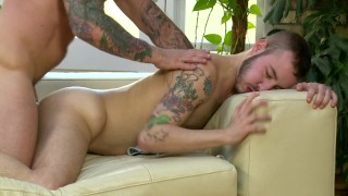 Cute Twink IMPALED On Rocco Steele's Huge, Girthy Cock. Can He Take It All?