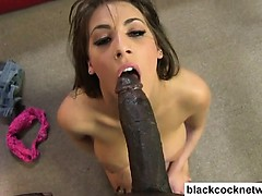 Busty Teen Used By Black Man