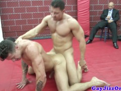 Muscular Athletic Jocks Getting Fucked