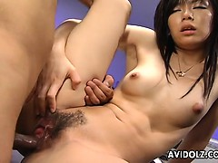 Horny Slut Satomi Maeno Fucked By Two Dudes Uncensored