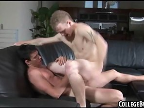 Horny College Amateur Hunk Riding A Rock Hard Cock