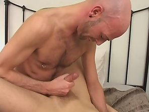 Mature And Twink Does Bareback Anal