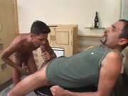 Big Dick Daddy Fucks Boy