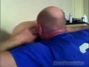 Father And Son On Webcam