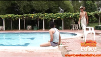 Latin Twink Bareback Fucks Pool Boy