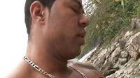 Latino Gay Sex On White Sand Beach