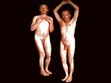N121 At1 Nackte Zwillinge Im Trickfilm Naked Twins Cartoon