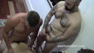 Amateur Four-way Group Sex