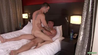 ActiveDuty Bareback Fucking And Ass To Mouth!