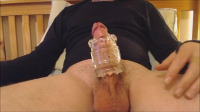 My Solo 64 (first Time Hard Lubed Cock Inside New Fuck Toy)