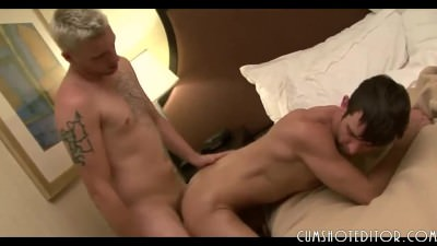 Relaxing Gays Couple Sex