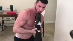 Billy Santoro Worships Soccer Jock's Gear And Cock