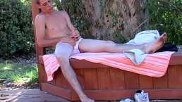 Outdoor Masturbation Session Time With Big Cock Mark Woods