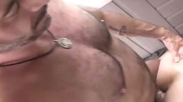 Dad And Stepson Fuck In Garden