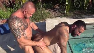 Jon Galt Flip Fucks His Smoking Hot PoolBoy (FULL SCENE)