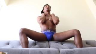 Nova Spreads Legs & Cums Alot 15-904