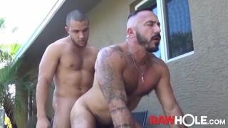 RAWHOLE Breeding Alessio's Cumhole