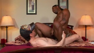 Interracial Anal Attack To A Real Hot White ASS!!!