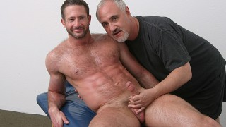 Sexy & Hairy Todd Maxwell Gets Erotic Massage From Jake Cruise
