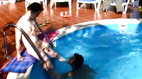 Mario And Jack In Poolside Fuck